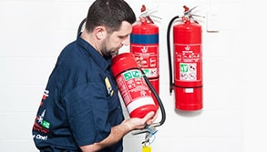 Fire Extinguisher Testing
