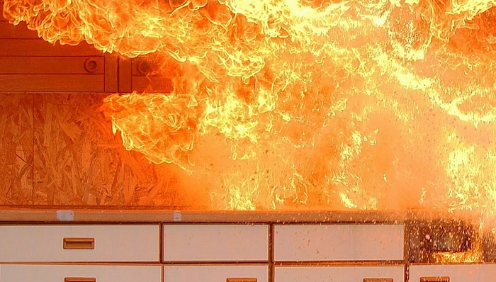 common causes of kitchen fires